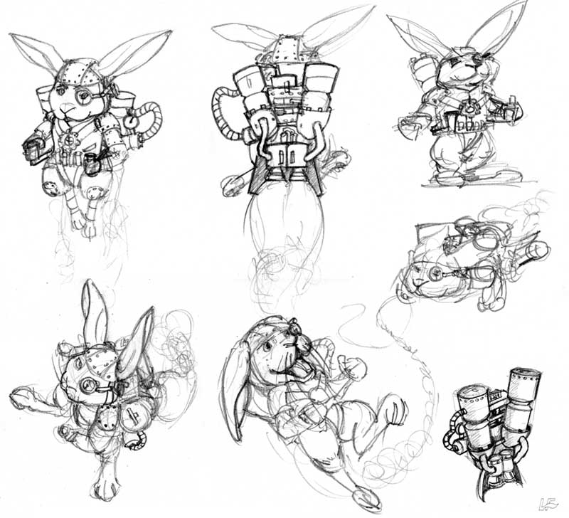 Gallery For gt Steampunk Jetpack Drawing